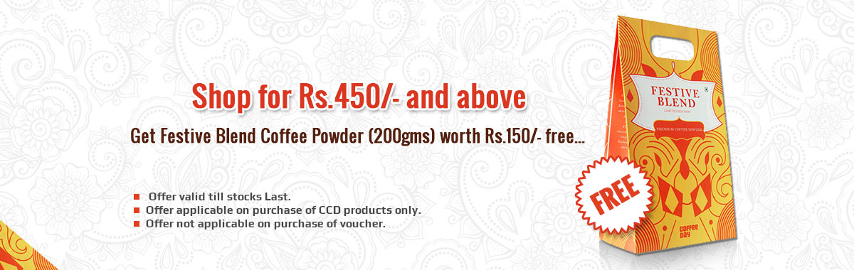 Shop for Rs.450/- and above And get free Rs 150