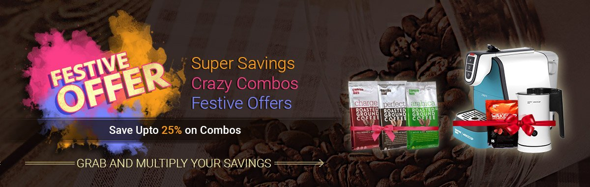 Save Upto 25% on Combos