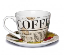 Coffee Times Cup - White - News