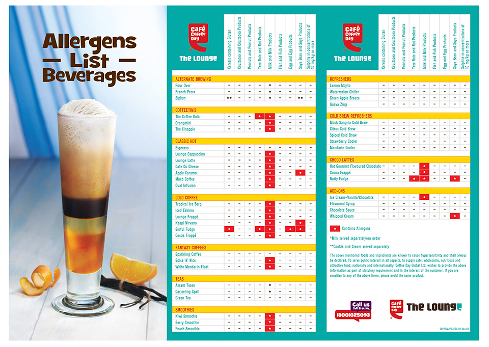 CCD Allergens_Lounge list Beverages Menu