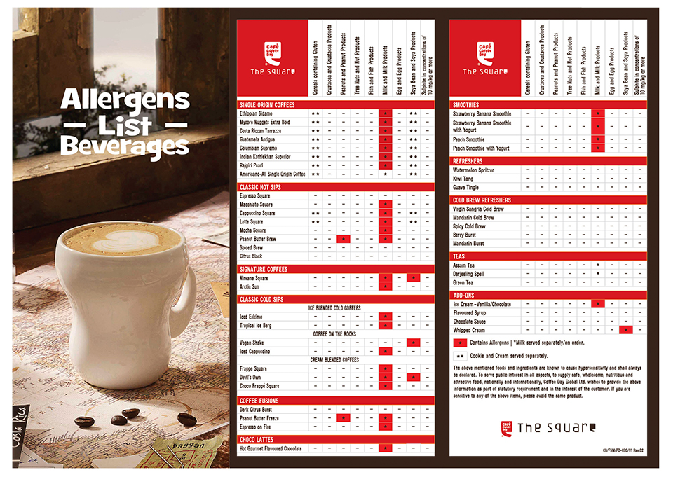 CCD Allergens_Square list Beverage Menu