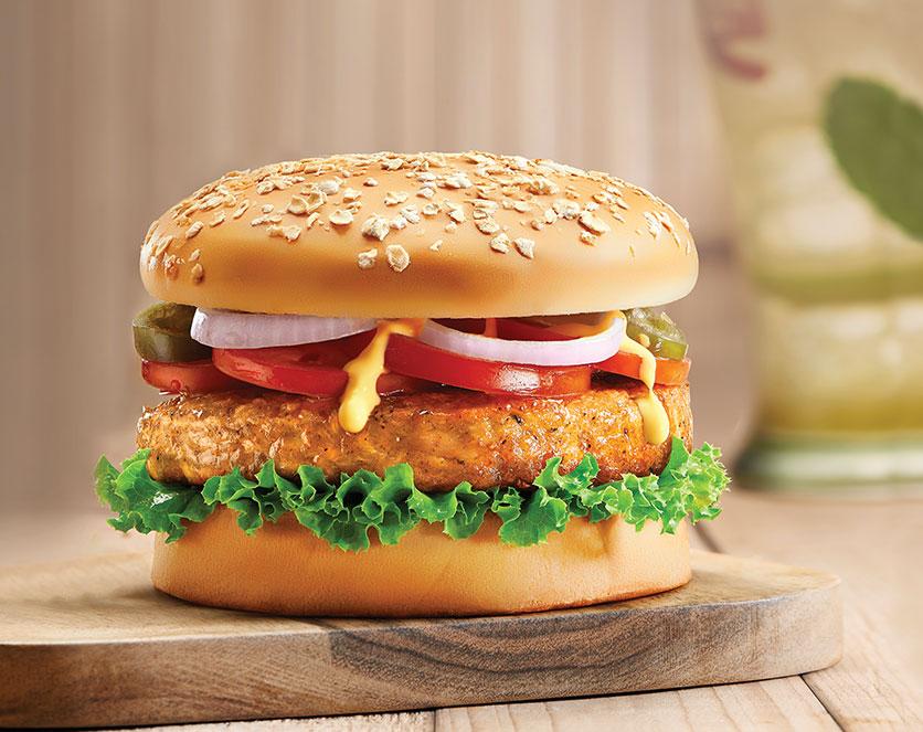 Big Crunch Chicken Cheese Burger CCD