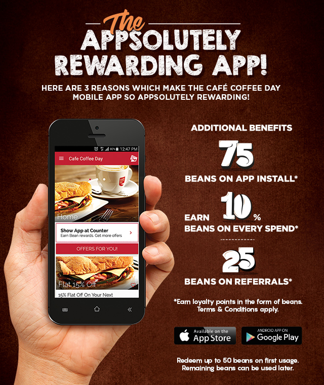 Rewards App | Café Coffee Day