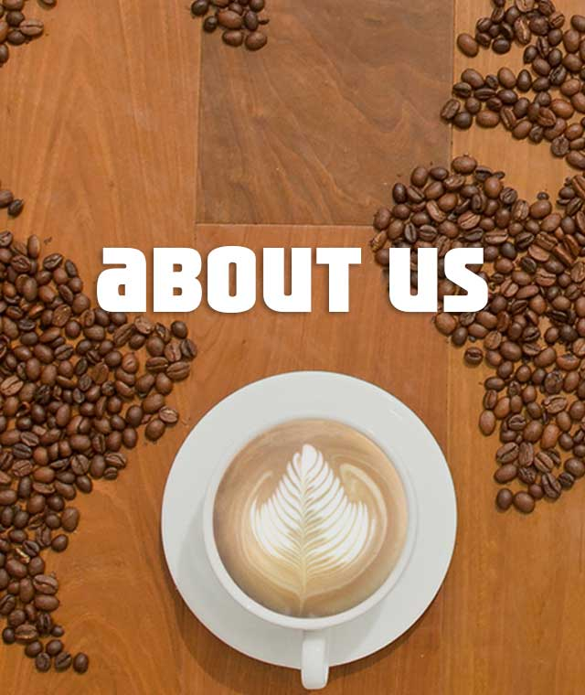Café Coffe Day About us Banner