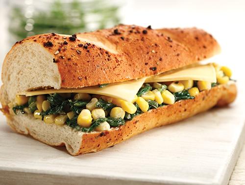 CCD - Spinach 'N' Corn Cheese